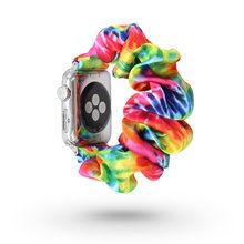 Для Apple Watch Band 5 4 3 2 1 резинка эластичный женский ремень ремешок для Apple Watch браслет для iWatch 44 мм 40 мм 42 мм 38 мм(China)