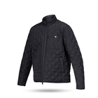 Light Poly Fabric Water Repellent Jacket New Light And Warm Jacket Poly Padding Quilted Jacket Zip Up Blouson For Men