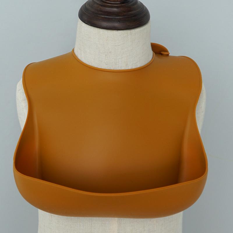 โมเดิร์น BPA ฟรีซิลิโคนถัง Bib ขายส่งซิลิโคนกันน้ำ Bib สำหรับทารก