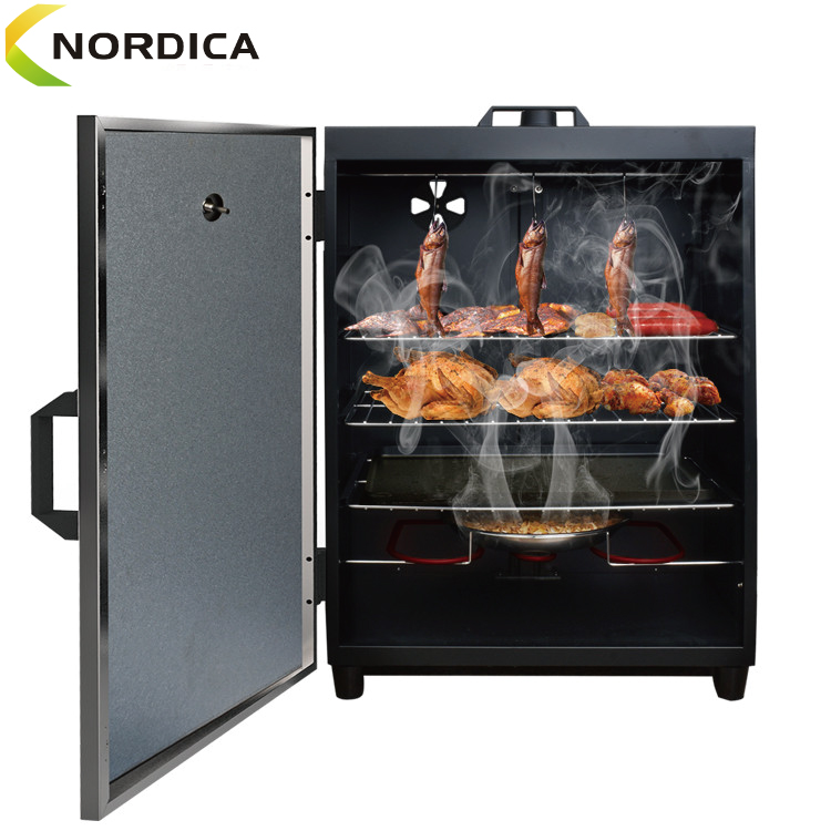 Portable Vertical Electric BBQ Grill Outdoor Pellet Smoker