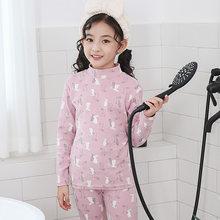 NANJIREN/Детский комплект с подштанниками, теплая осенняя одежда, Подростковый комплект, Детские подштанники, комплект нижнего белья, хлопкова...()