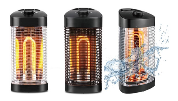 SinoLibra inovação mecânica de controle de 360 graus de calor infravermelho pátio aquecedor de carbono para casa/bar área de trabalho