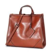 Роскошная Брендовая женская кожаная сумка из натуральной кожи, повседневные сумки-тоут, женские большие сумки на плечо для женщин, кошельки...(Китай)