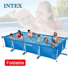 Manufacturer Intex Spa Filter Cartridge Swimming Pools Metal Frame / Frame Outdoor Swimming Pool