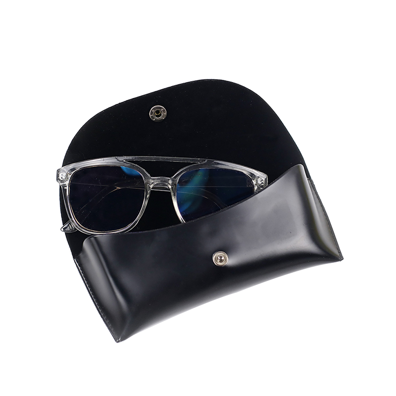 PU sun glasses case leather, black leather sunglasses case, leather specsavers glasses case
