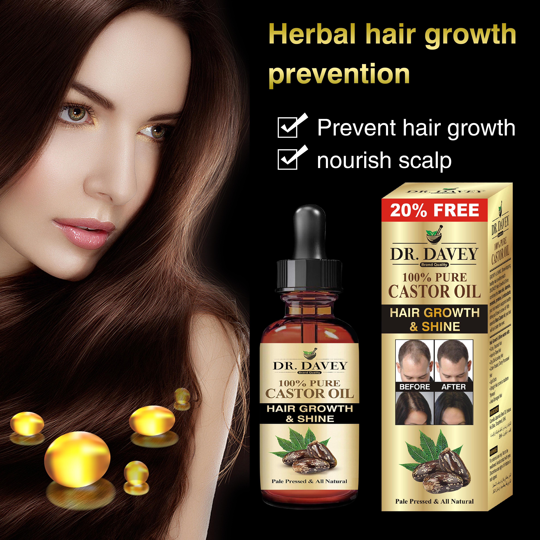 castor hair growth oil