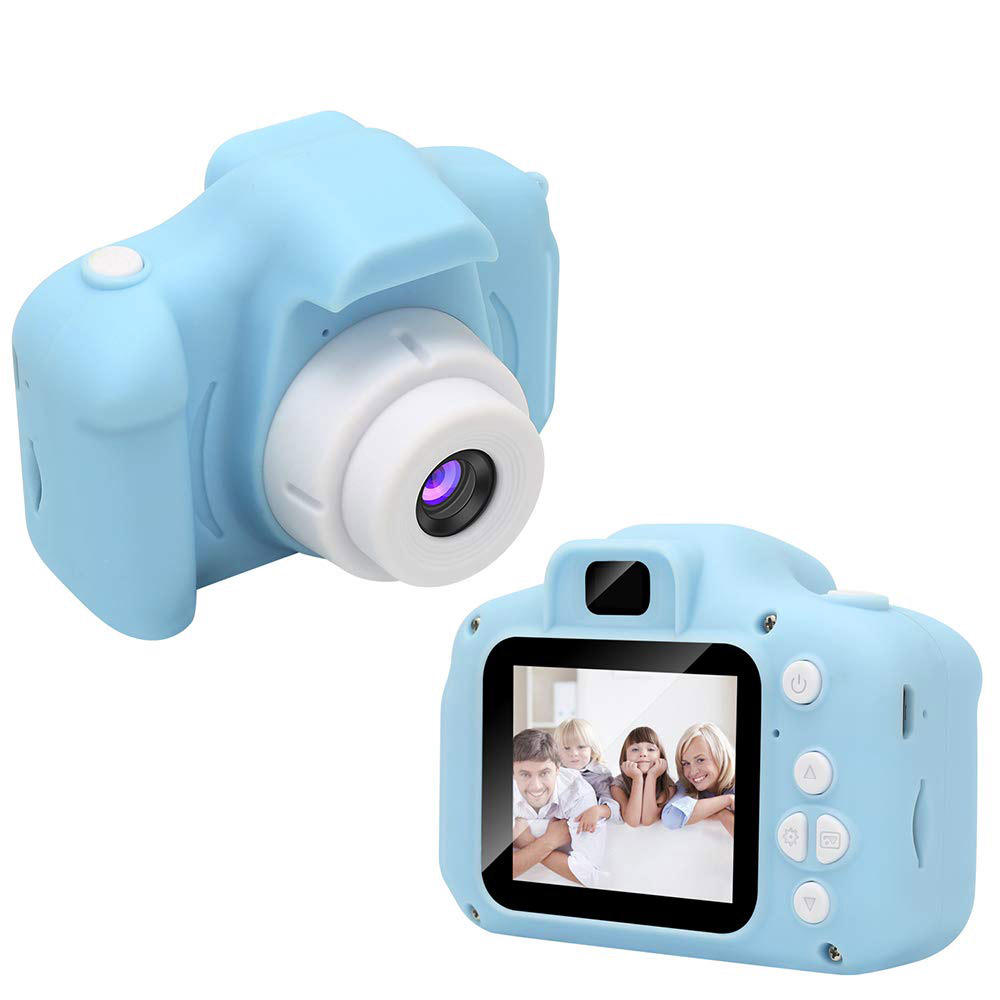 Children Digital Cameras 1080P IPS 2 Inch Kid Action Camera <strong>Video</strong> for Girls Birthday Toy Gifts