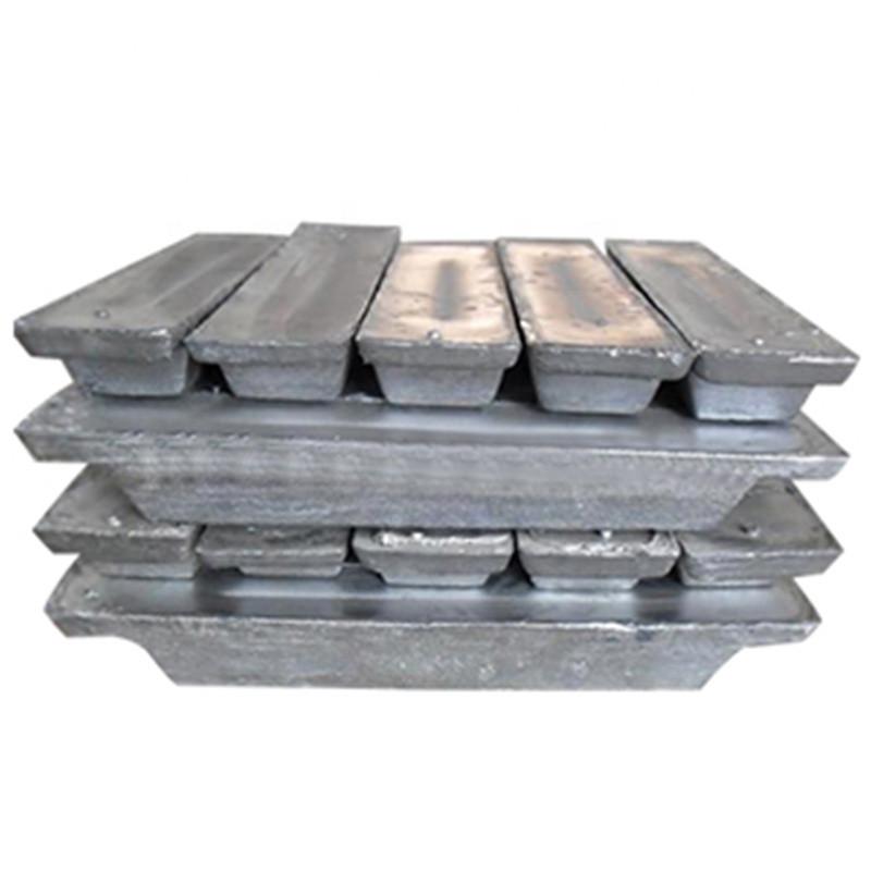 Lead ingot for storage battery