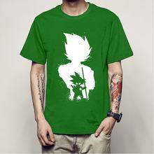 Аниме Dragon Ball Z Vegeta Super Saiyan Goku, пиколо, костюм для мужчин, Повседневная футболка, футболка для мужчин(Китай)