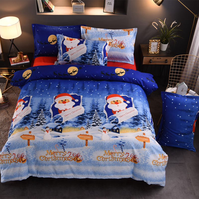 OEM Twin <strong>Size</strong> Children Bedding <strong>Set</strong> Kids Duvet Cover <strong>Set</strong> For Christmas