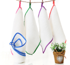 wholesale reusable holiday custom white terry absorbent bamboo microfiber Kitchen dish tea towels cloth set