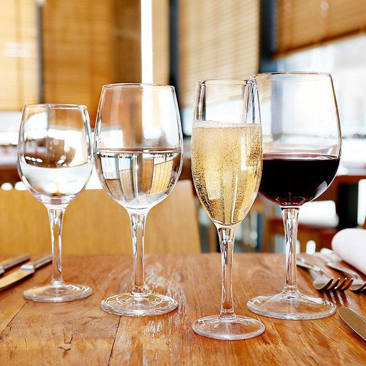 Wholesale Disposable Wine Glasses Dishwasher Safe Plastic Champagne Flutes 100Ml Libbey Tulip Cocktail Champagne Glasses