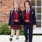 School Uniforms For Whole Boutique Unisex Spring And Autumn UK Style Kids School Uniforms For USA