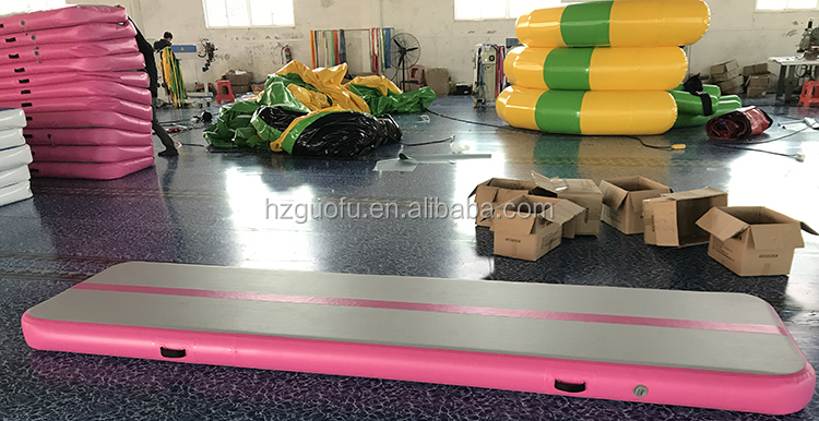 High Quality Any Shape  Inflatable Air Gymnastic Track Crash Mat Mattress with Factory Price for Sports