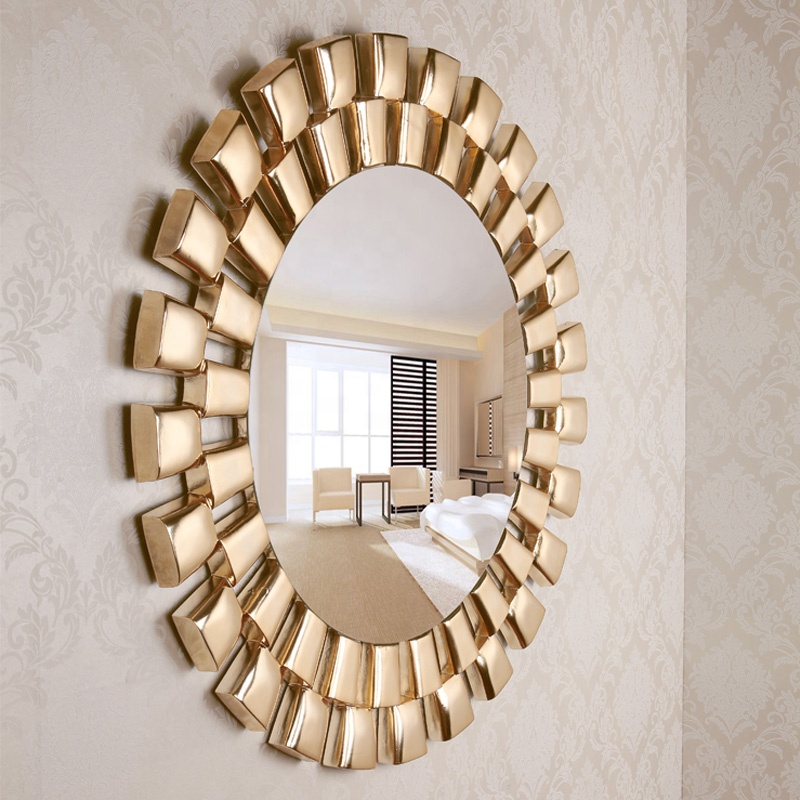 Antique Big Size Gold Living Room Round Decorative Wall Mirror Mirrors Decor Wall Buy Decorative Mirror Big Wall Mirror Decor Mirror Glass Wall Product On Alibaba Com