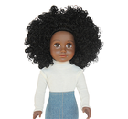 Factory cheap pvc black baby girl doll with real african hair plastic lifelike indian doll toy custom mini fashion doll for kids