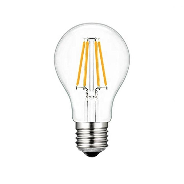 12 Volt Light Bulbs A60 4W Edison Lamp E27 2700K 3000K LED Filament Bulb