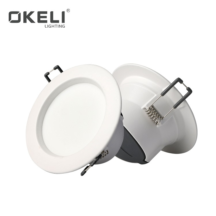 OKELI Hot Selling Energy Saving Flush Mounted Indoor Lighting For Office Store 7W 9W 12W 15W SMD Led Down Light