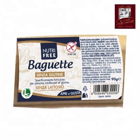 Gluten Free Baguette 90 g Giuseppe Verdi Selection