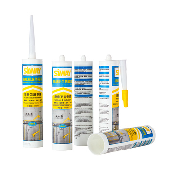 Quick Dry Acetic Silicone Wooden Window Sealant with Mildew Proof Performance