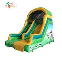 2020 new inflatable football slide