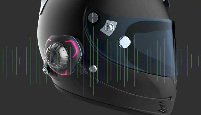 Tay Miễn Phí Tai Nghe Không Thấm Nước Xe Máy Đội Mũ Bảo Hiểm Tai Nghe Không Dây Bone Conduction Headphone Xe Máy Bluetooth Mũ Bảo Hiểm Tai Nghe