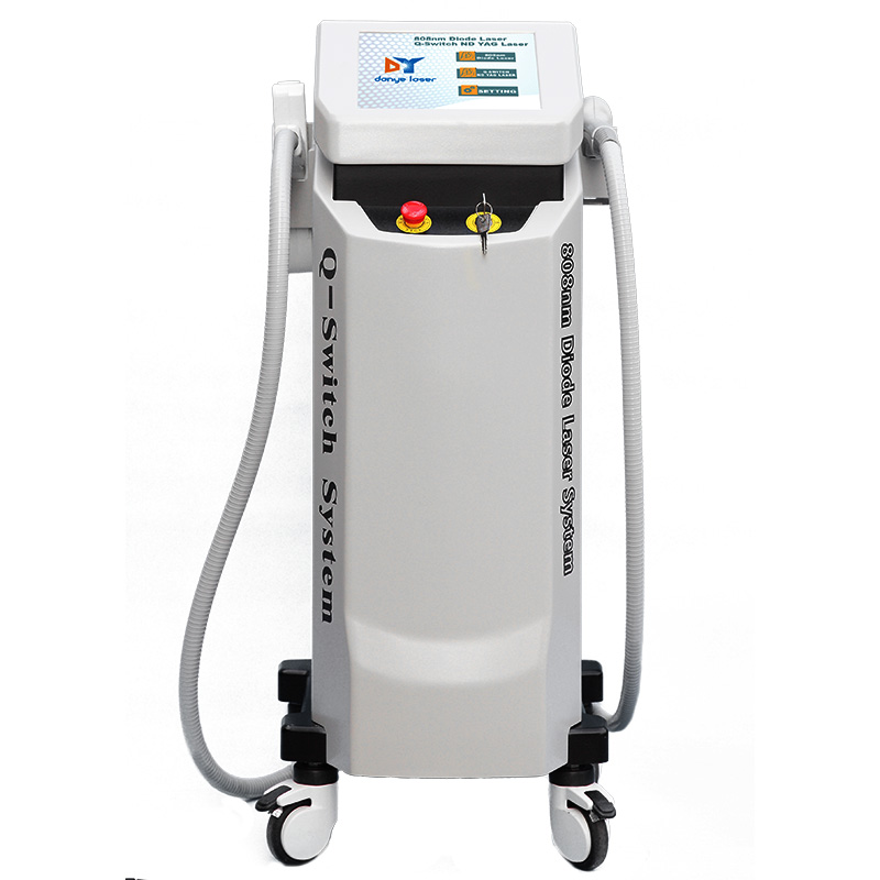 755nm 808nm 1064nm Zema Soprano Diode Laser Hair Removal Machine