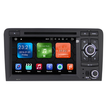"3G WiFi 7 ""2 Din 1024*600 HD Touchscreen Android 7.1.2 Quad-core Auto Radio GPS DVD Player mit 2G RAM + 16G ROM für A3 2003-2012"