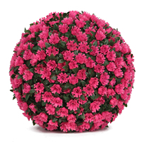 High Quality Rose artificial boxwood topiary grass wedding flower balls for party wedding decoration
