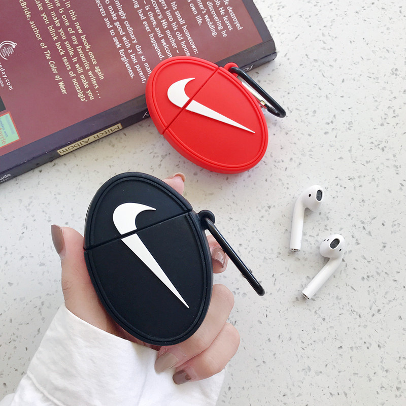 2020 hot selling headphone case for airpods case NK PM AJ earphone case for airpods