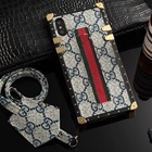 Case Phone Square Cover Case For Apple I Phone 11 Case X/Xs Luxury Fashion TPU Print Housing For Girl Women Gift