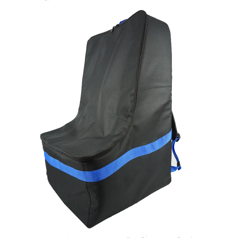 Bolsa para viaje de asiento de automóvil acolchado al por mayor venta al por mayor nuevo diseño de viajes, ligero y duradero de gran capacidad coche asiento de bebé mochila de viaje