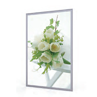 Lighted movie poster frame ultra thin led display light box photo frames designs city light poster from shanghai factory