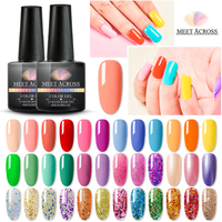 255 Colours Private Label Nail Art Varnish Soak off UV Nail Color Gel