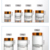 Recycled Clear 5g 10g 15g 20g 30g 50g 100g Cosmetic Packaging Cream Glass Jar
