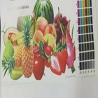 Heat sublimation acrylic water-based inkjet transparent coating for polyester fabric