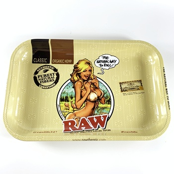 Wholesale Tobacco Trays Weed Storage Herb Tin Rolling Tray