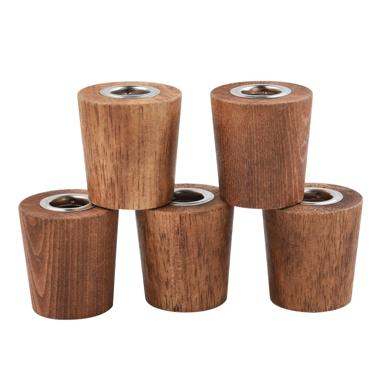 China wholesale Wooden Cap For Aromatherapy Glass Bottle