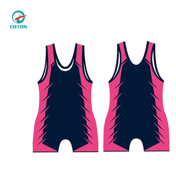 Hot sale factory price sexy women wrestling singlet