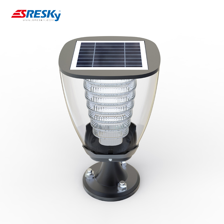 Good price of green plastic ball indoor led dome garden light solar with best quality and low price