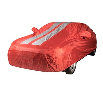 Car Accessories Polyester Taffeta 190T Sun UV Proof Customized Design Car Cover Waterproof