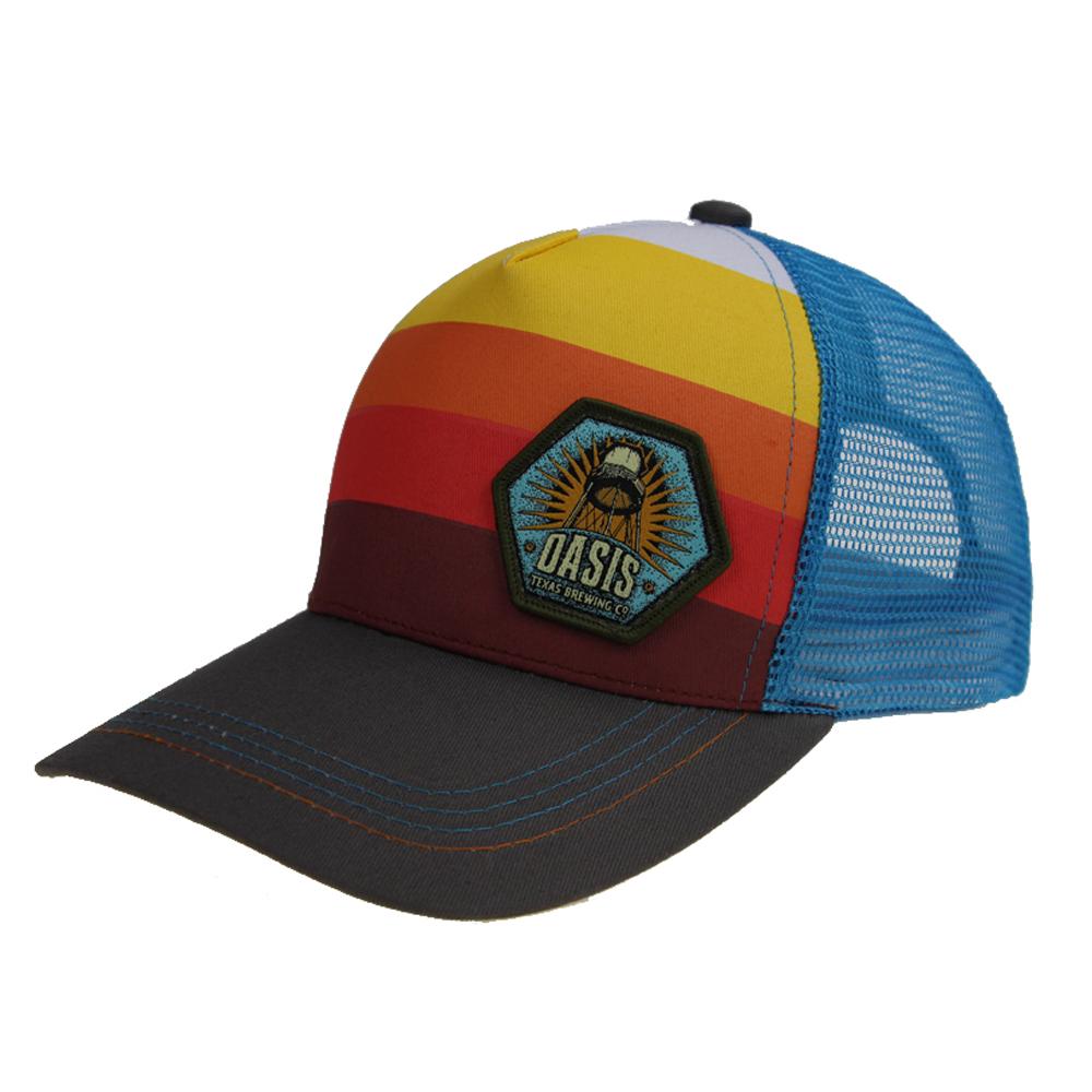 ขายส่งที่กำหนดเองพิมพ์เปล่าเย็บปักถักร้อย patch 5 ห้าแผงตาข่ายเบสบอลตาข่ายหมวก trucker หมวกสำหรับทารก