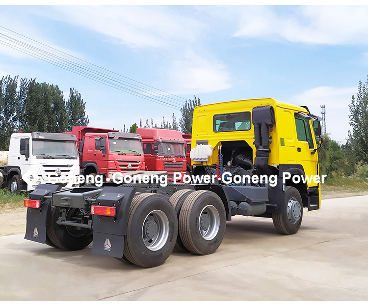 direct sell Cheaply high quality Used 6x4 371- 420 hp Tractor Truck Head Sinotruck Howo for Africa