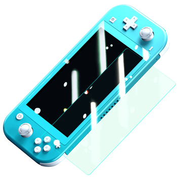 low price clear tempered glass nuglas factory for nintendo switch lite screen protector