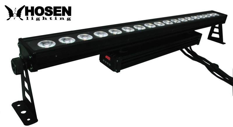 Waterproof 18X10W RGBW 4in1  High Power outdoor led Wall Washer Light led bar light