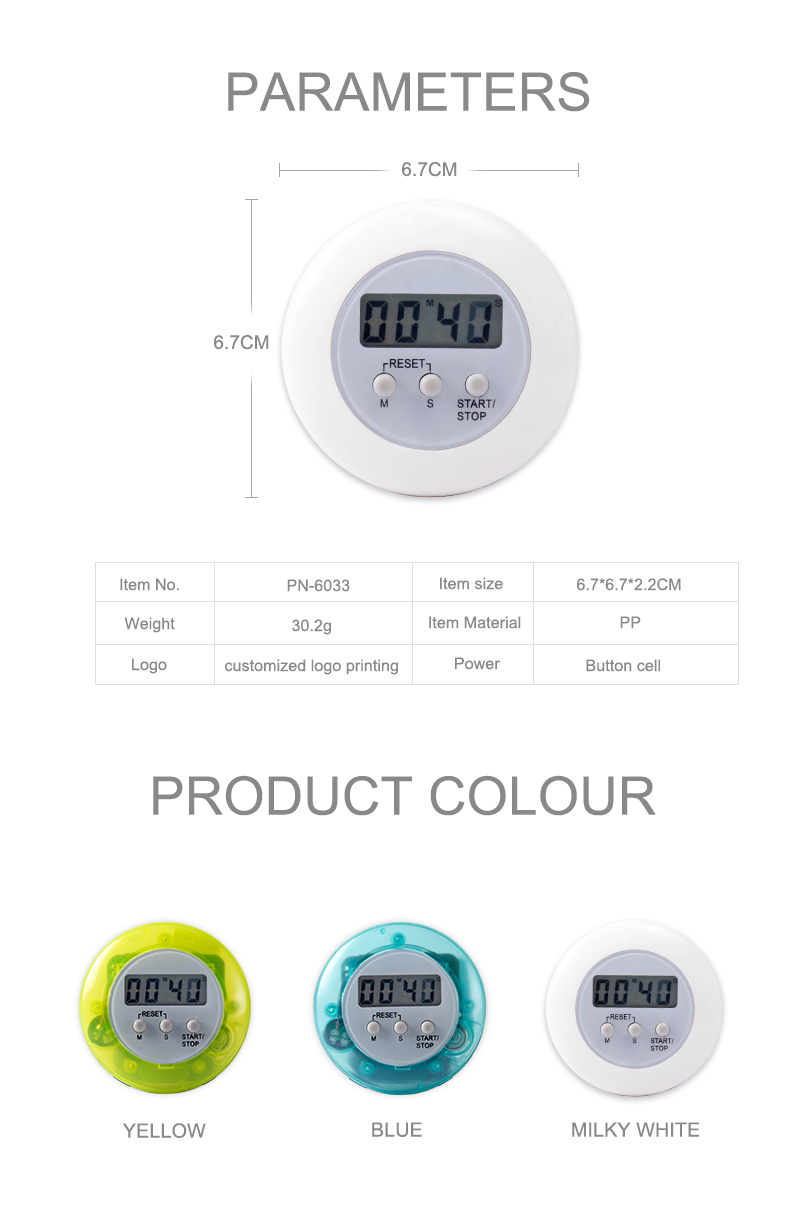 Hot sales mini  digital medicine timer funny kitchen timer