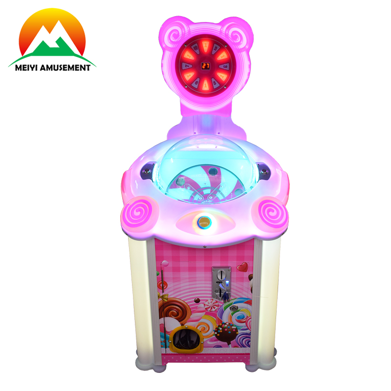 Lollipop vending game machine muntautomaat arcade snoep automaat gift machine voor verkoop