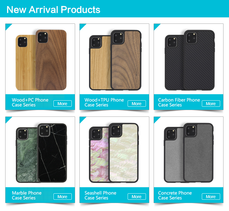3D Knight OEM Factory Wholesale Real Wood Phone Case For iPhone 11