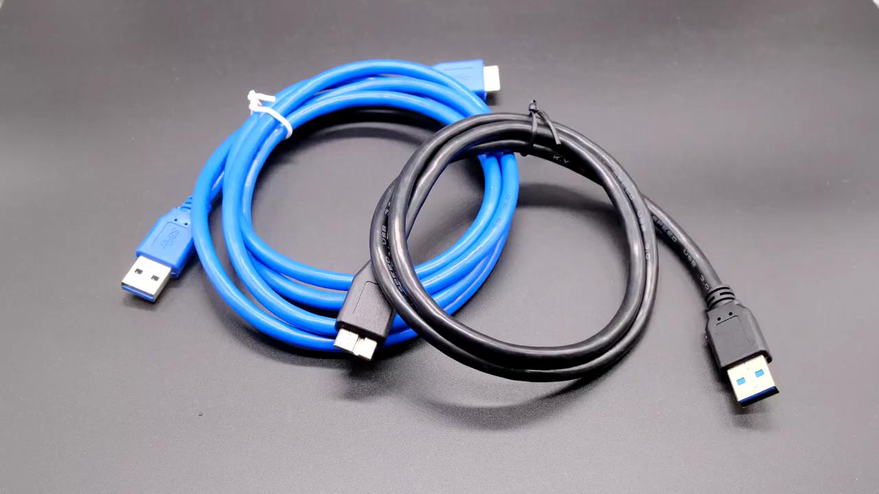 Cable de cargador USB 3,0 tipo A macho A Micro B rápido cargador Cable Compatible para Samsung Galaxy S5 nota 3 DISCO DURO