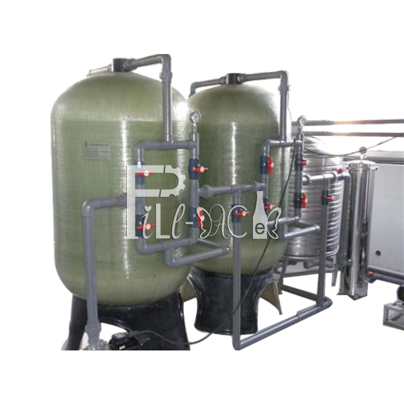 Mineral / pure drinking water ion exchanger / precision / cartridge purification equipment / plant / machine / system / line